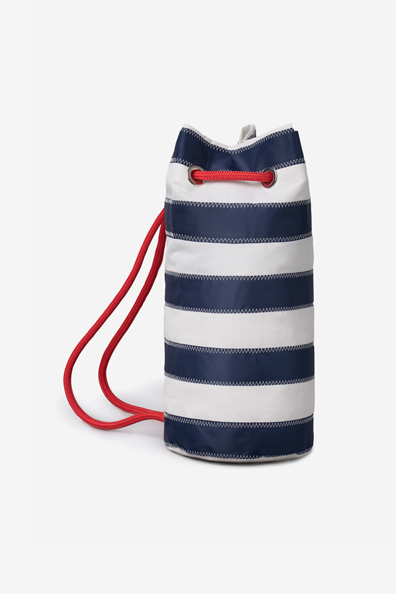 Octapodhaki Striped | Upcycled Sail Bags | Salty Bag