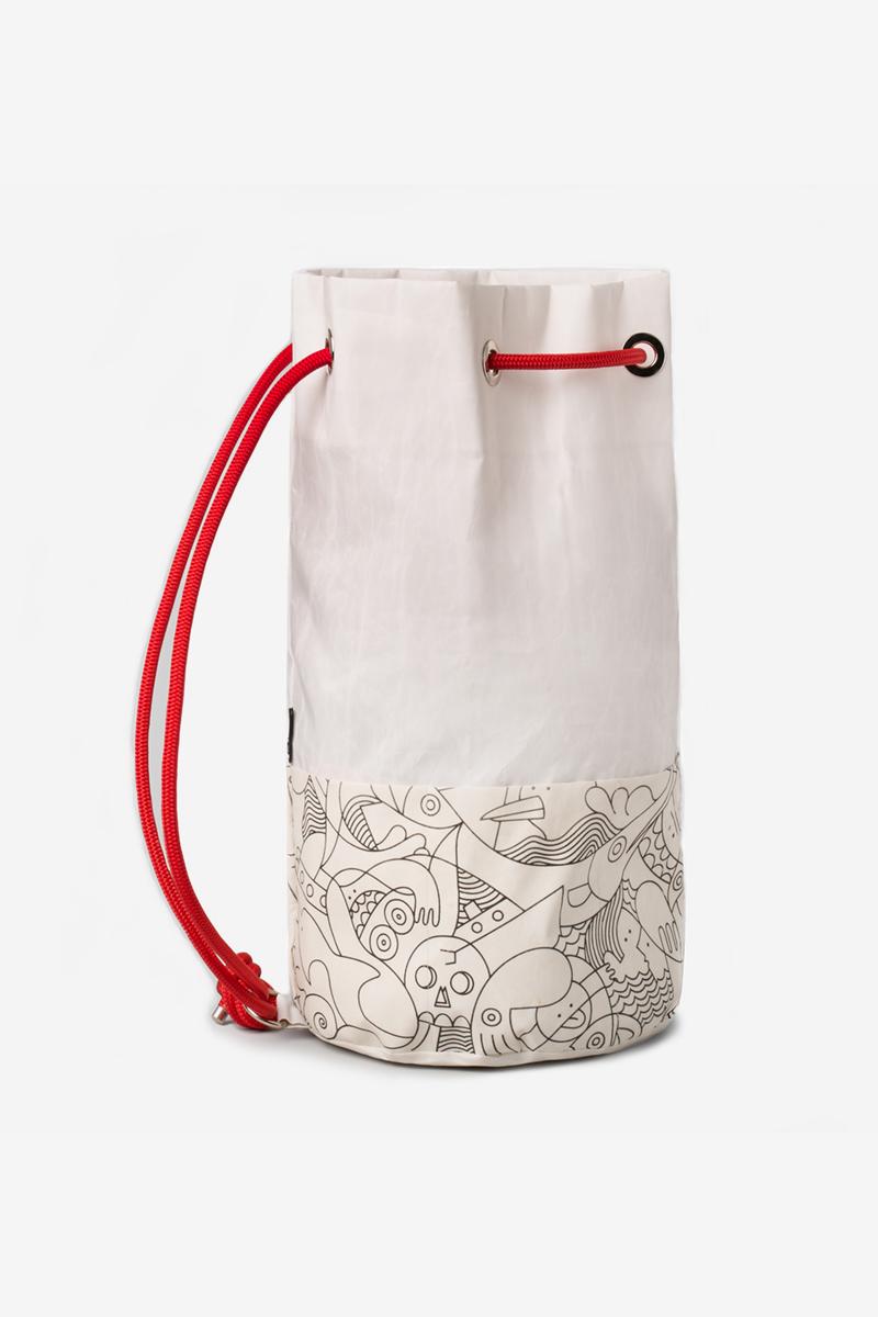 Octapodhara | Upcycled Sail Bags | Salty Bag