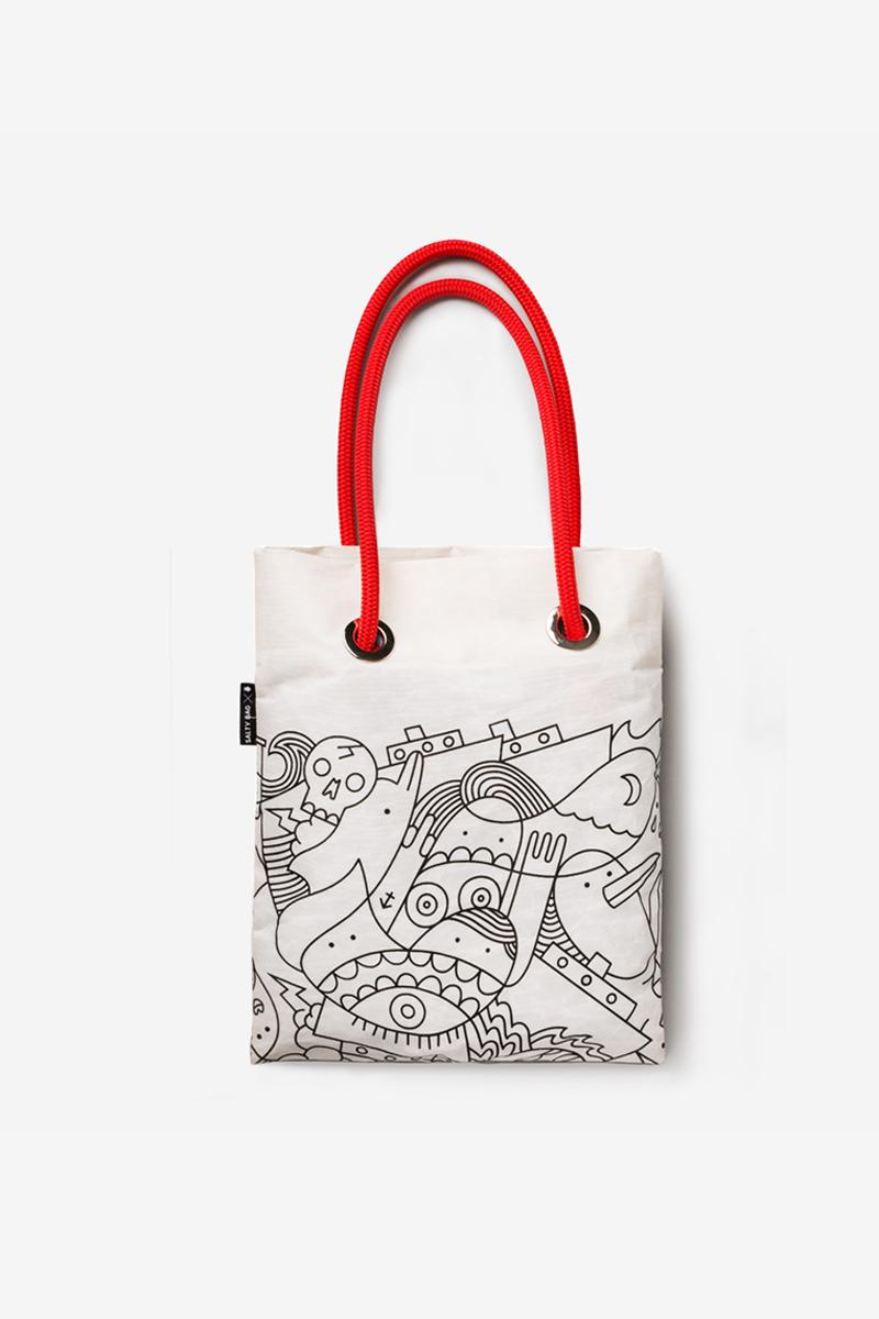 Platia | Upcycled Sail Bags | Salty Bag