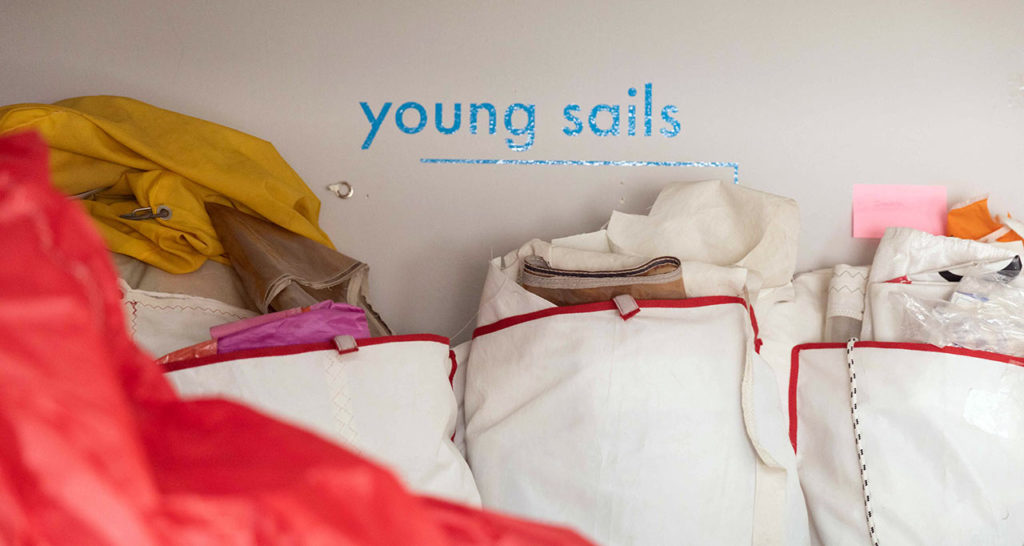 Materials | Upcycled Sail Bags | Salty Bag